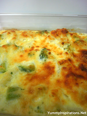 Cheesy Cauliflower and Broccoli Casserole Bake Recipe
