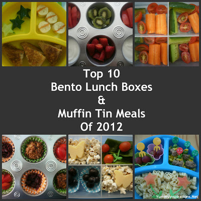 top 10 bento lunch boxes muffin tin meals of 2012. Black Bedroom Furniture Sets. Home Design Ideas