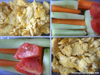 Veggie+Scrambled+Eggs+Snack+Lunch+Box