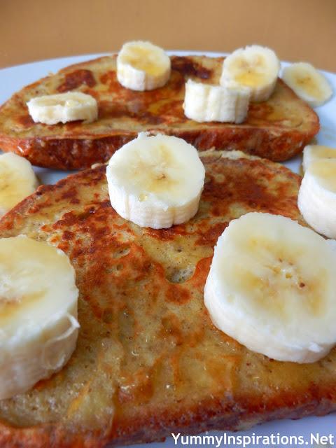 Banana Bread French Toast - Yummy Inspirations