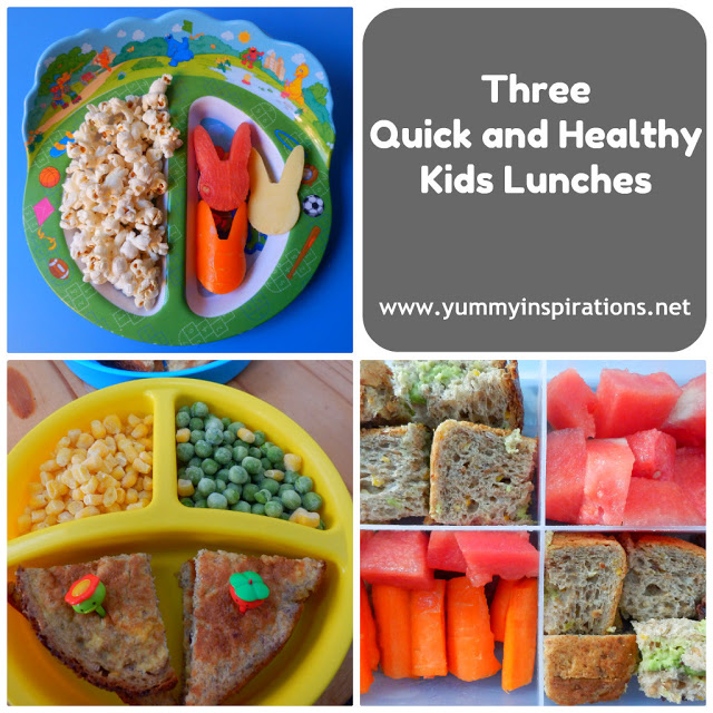 three quick and healthy kids lunches yummy inspirations