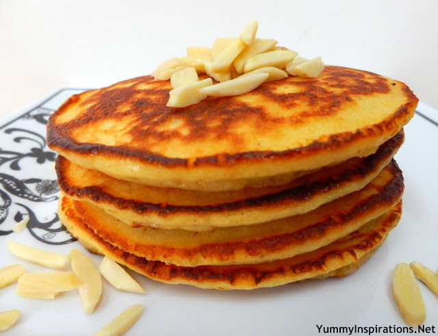 Grain free fluffy almond pancakes yummy inspirations grain free fluffy almond pancakes ccuart Gallery
