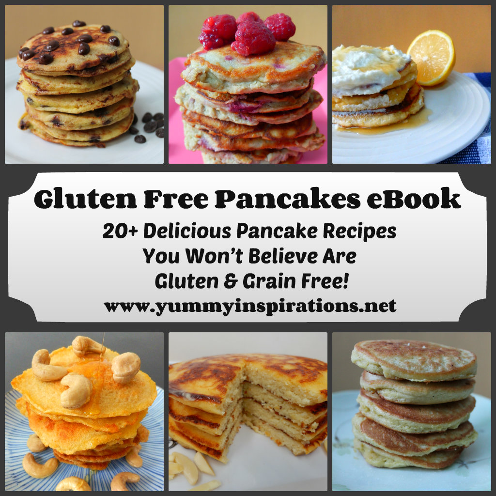 Gluten Free Pancakes eBook Collage