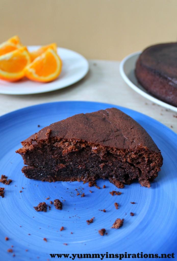 Grain Free Chocolate Orange Cake