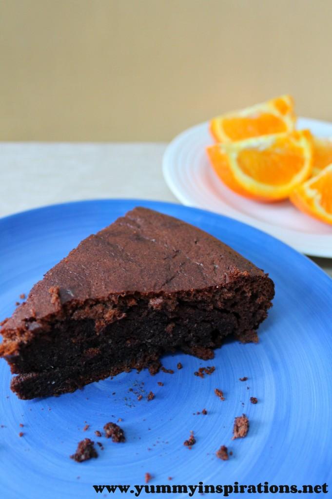 Grain Free Chocolate Orange Cake Recipe