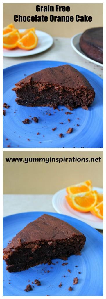 Grain Free Chocolate Orange Cake Recipe Yummy Inspirations