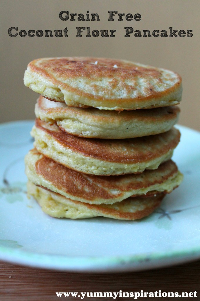 Grain Free Coconut Flour Pancakes Recipe