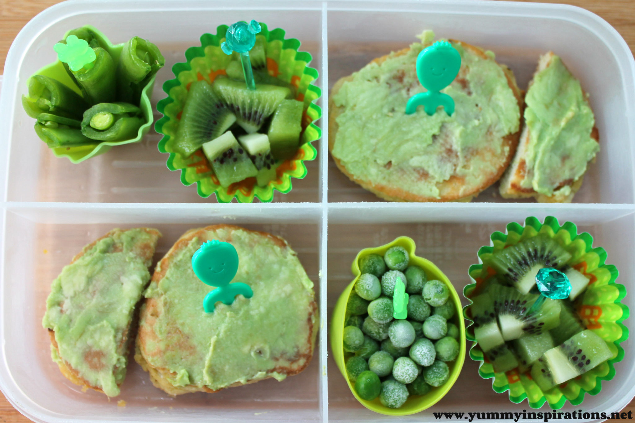 Pancakes Lunch Box Idea