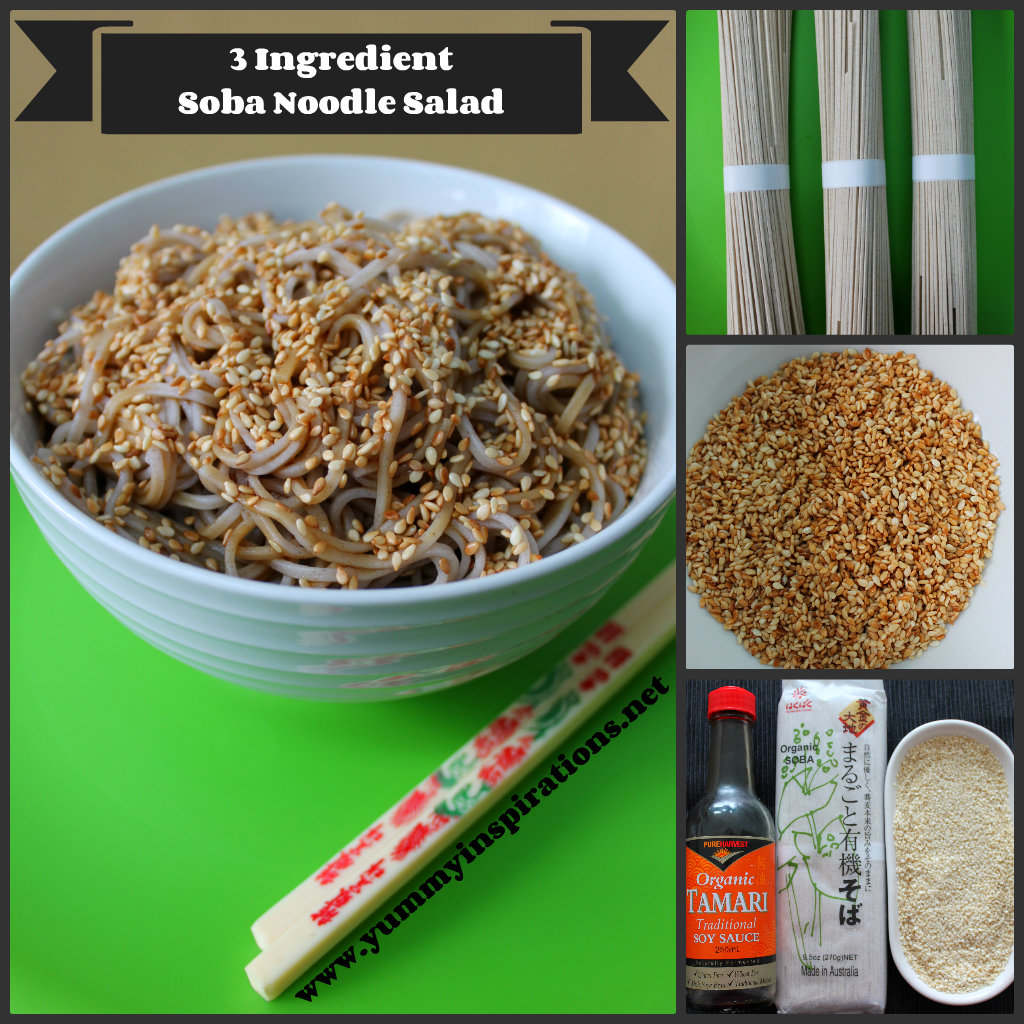 Soba Noodle Salad Recipe Header