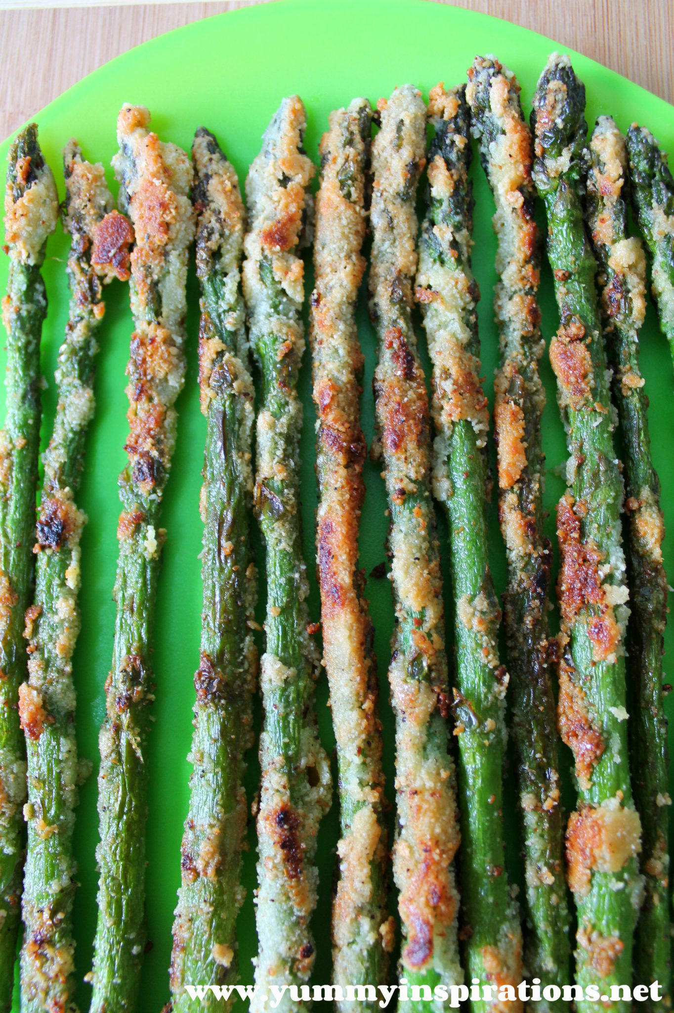 Grain Free Crispy Asparagus Fries