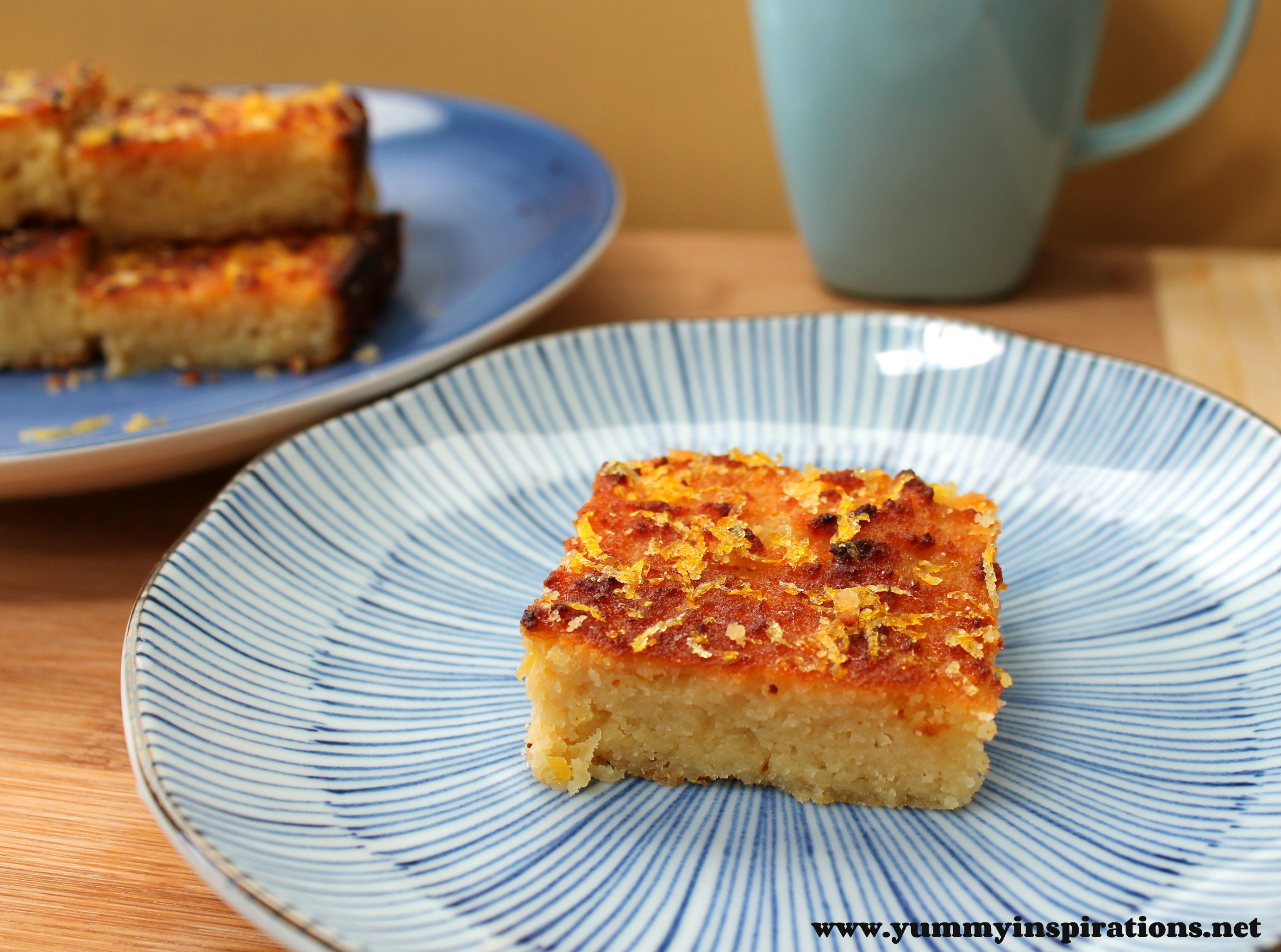Recipes Using Lemon Drizzle Cake: Lemon Drizzle Cake (Grain Free