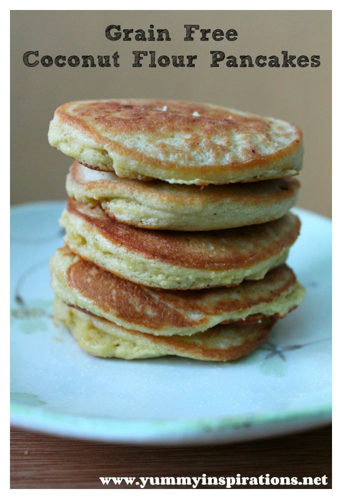 Grain Free Coconut Flour Pancakes are from my Gluten Free Pancakes ...