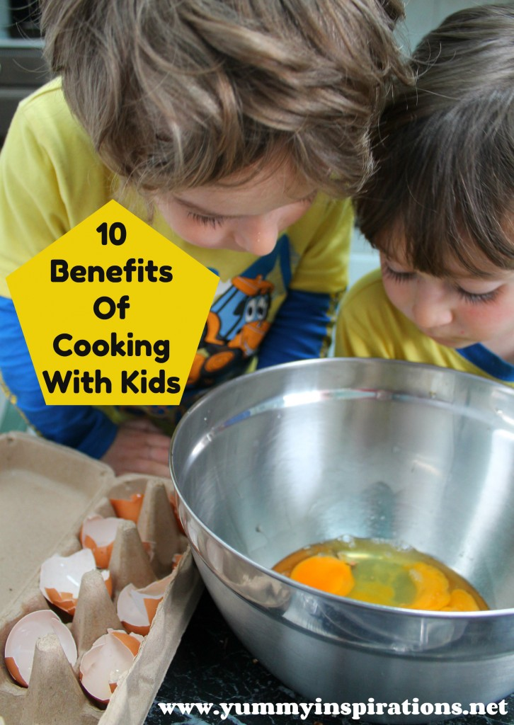 10 Benefits Of Cooking With Kids