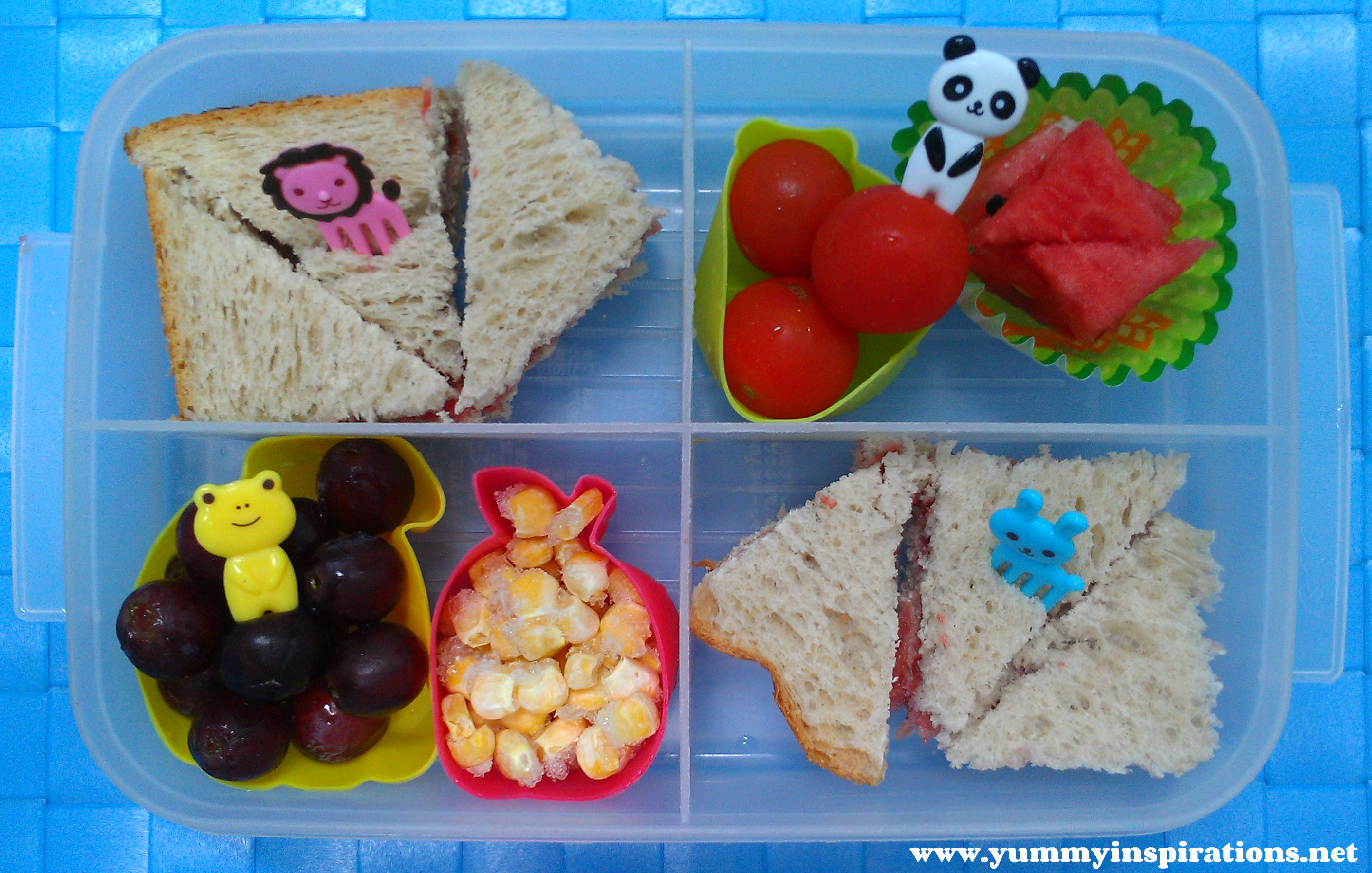 Yumbox and Bento boxes are typically very compact and small, which means that when it comes to toddler lunch ideas, you must get creative in how you pack your foods.