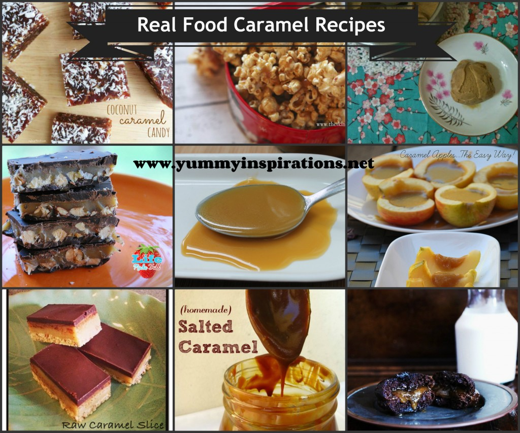 Real Food Caramel Recipes