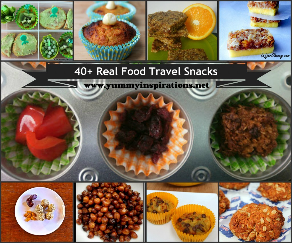 Real Food Travel Snacks