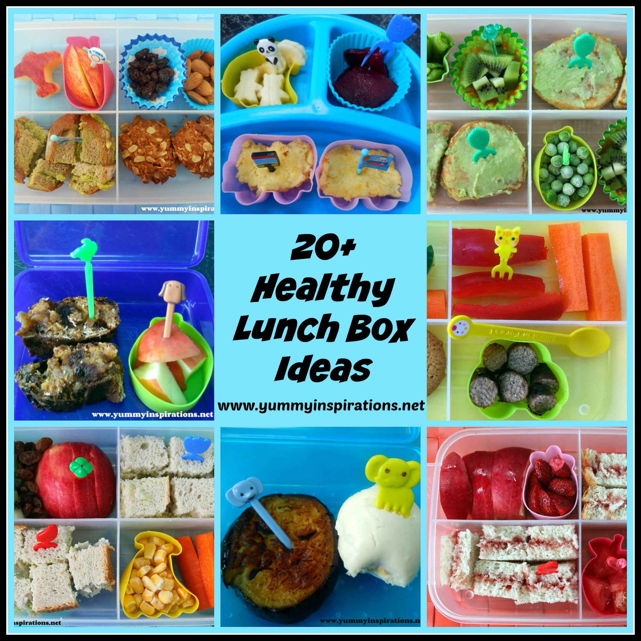 20 healthy lunch box ideasg 20 healthy lunch box ideas forumfinder Image collections