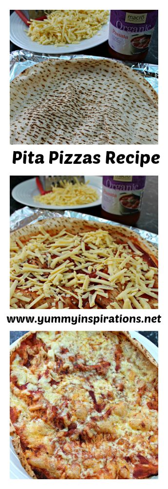Pita Pizzas Recipe