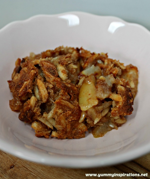 Pear Crumble - Grain Free & Gluten Free
