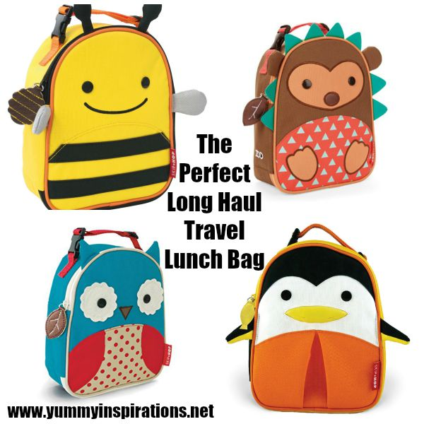 The Perfect Lunch Bag For Long Haul Travel With Kids