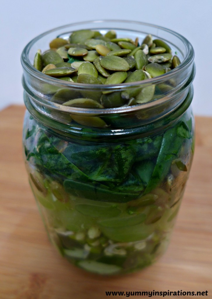 Big Green Salad In A Jar Recipe