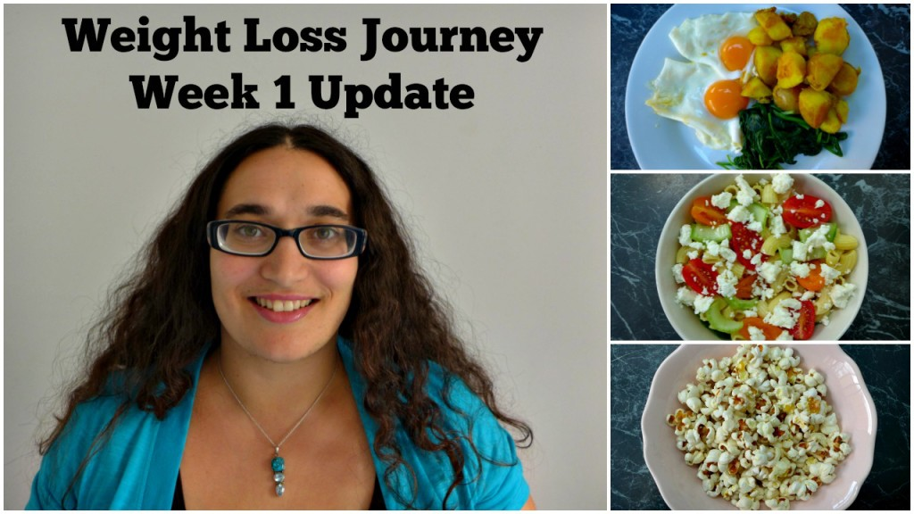 Weight Loss Journey Week 1 Update & Youtube Videos
