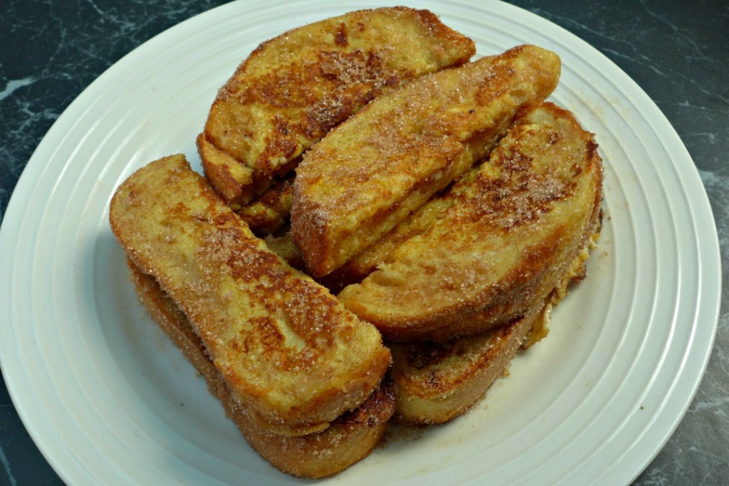 ... and perfection… especially this Cinnamon French Toast Sticks Recipe