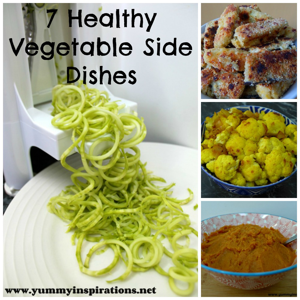 An Easy Healthy Side Dish: 7 Healthy & Easy Vegetable Side Dishes
