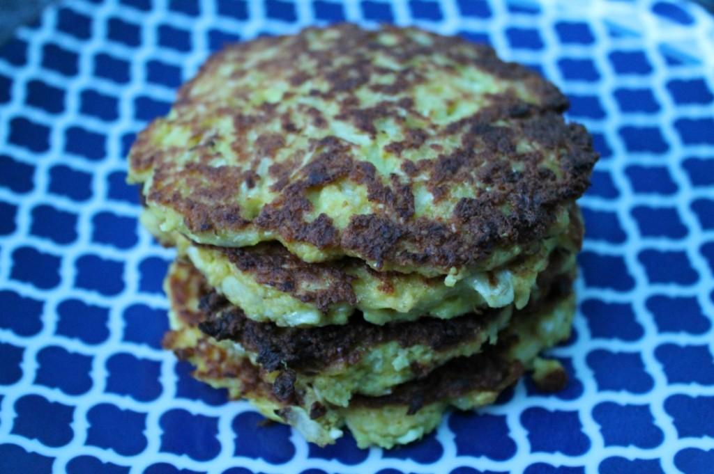 Turmeric Spiced Cauliflower Fritters (Gluten Free, Paleo)
