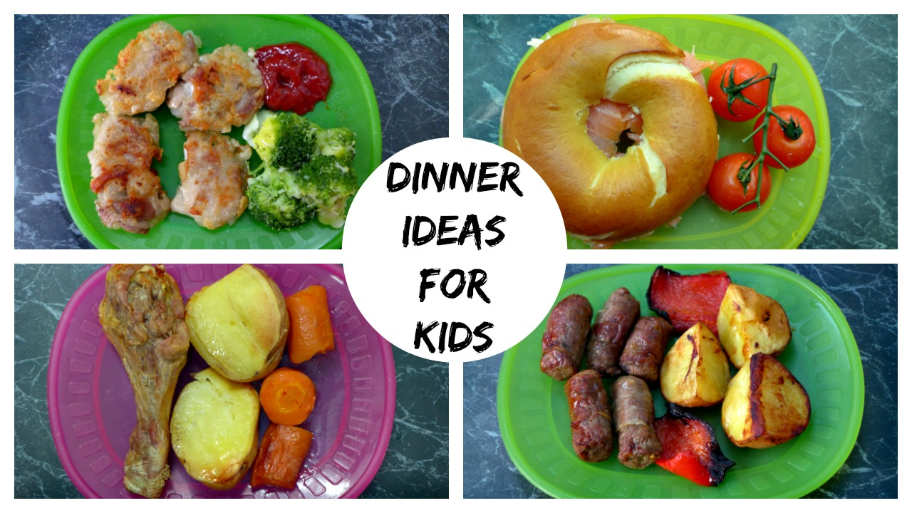 A Month of Healthy Dinner Ideas for Kids. Make a healthy meal your whole family can enjoy with these kid-friendly dinner recipes. Your kids still get to eat all their favorite foods—mac & cheese, spaghetti, pizza and chicken fingers. And you can feel good about cooking up a healthier meal for your family.