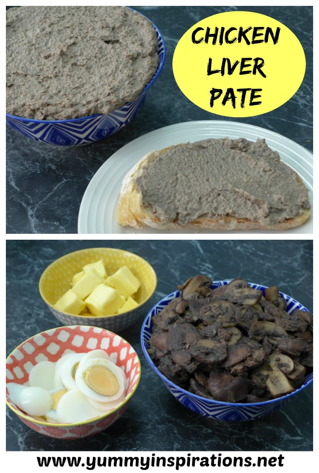 Chicken Liver Pate Recipe - adapted from Nourishing Traditions