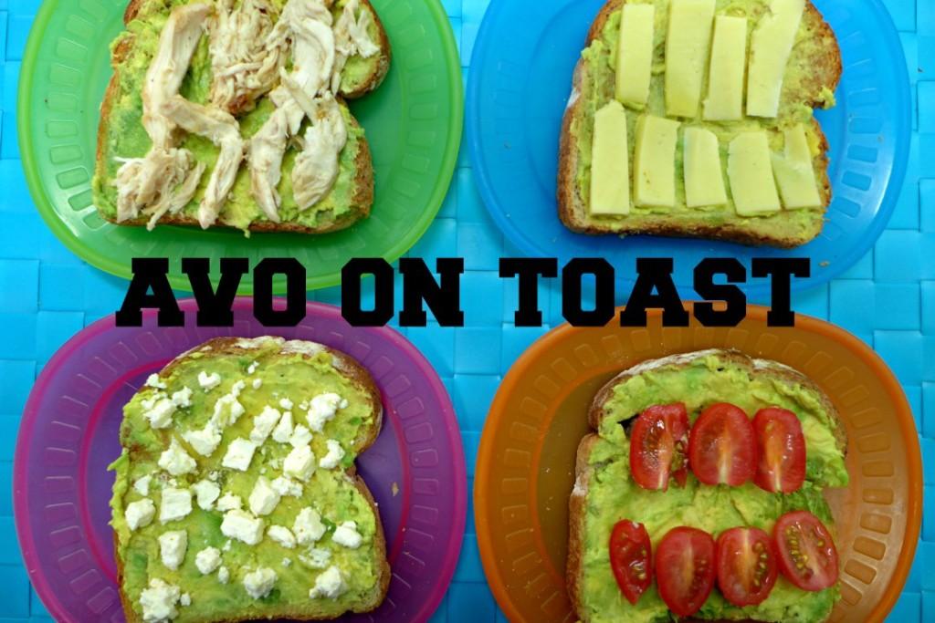 4 Avocado on Toast Ideas