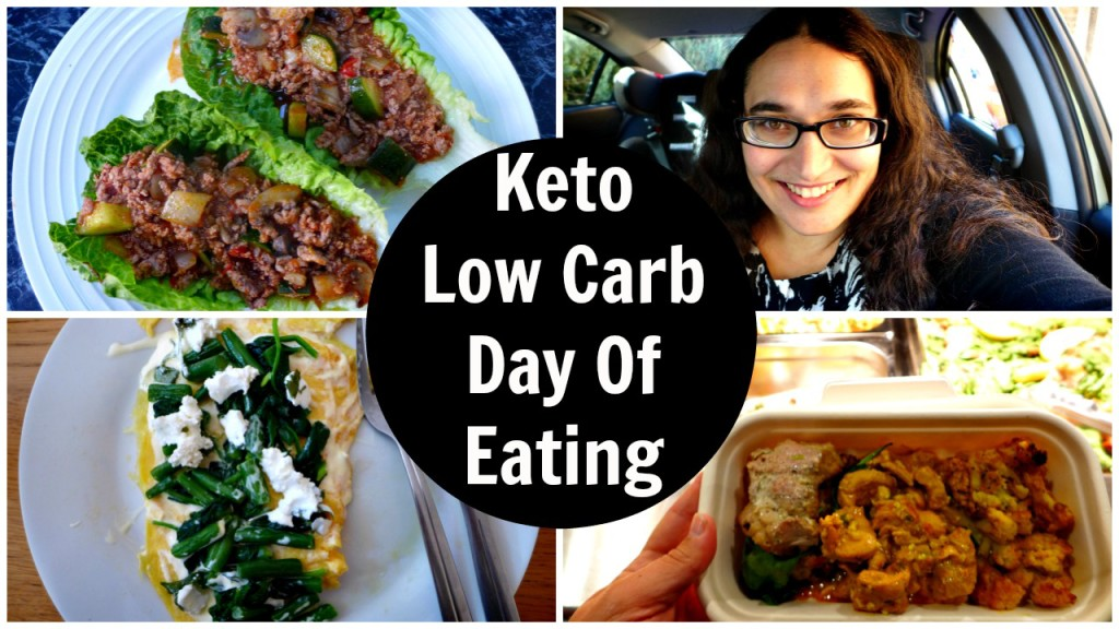 Keto Low Carb Day Of Eating and Meal Prep Diary and Video