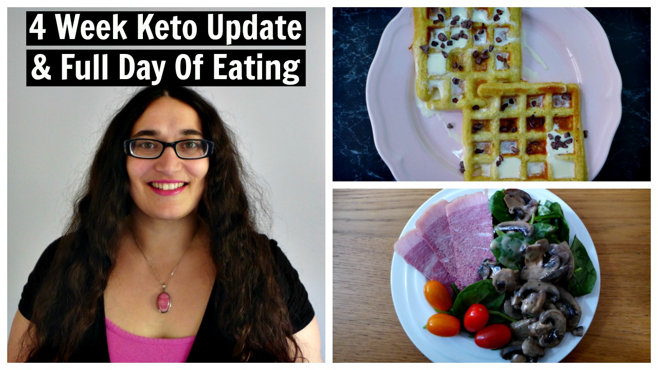 4 Week Keto Diet Weight Loss Results + Full Day Of Eating Video