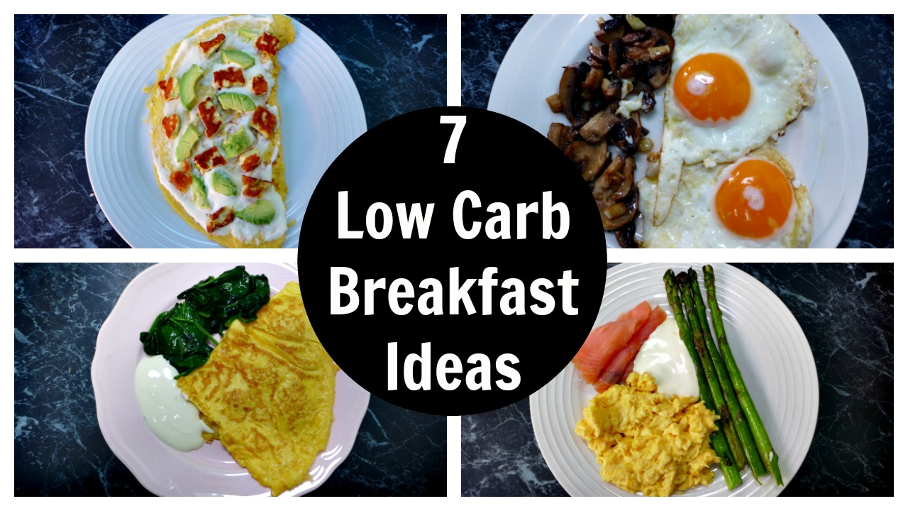 Low carb breakfast ideas without eggs liss cardio workout for Quick and easy low carb dinner recipes
