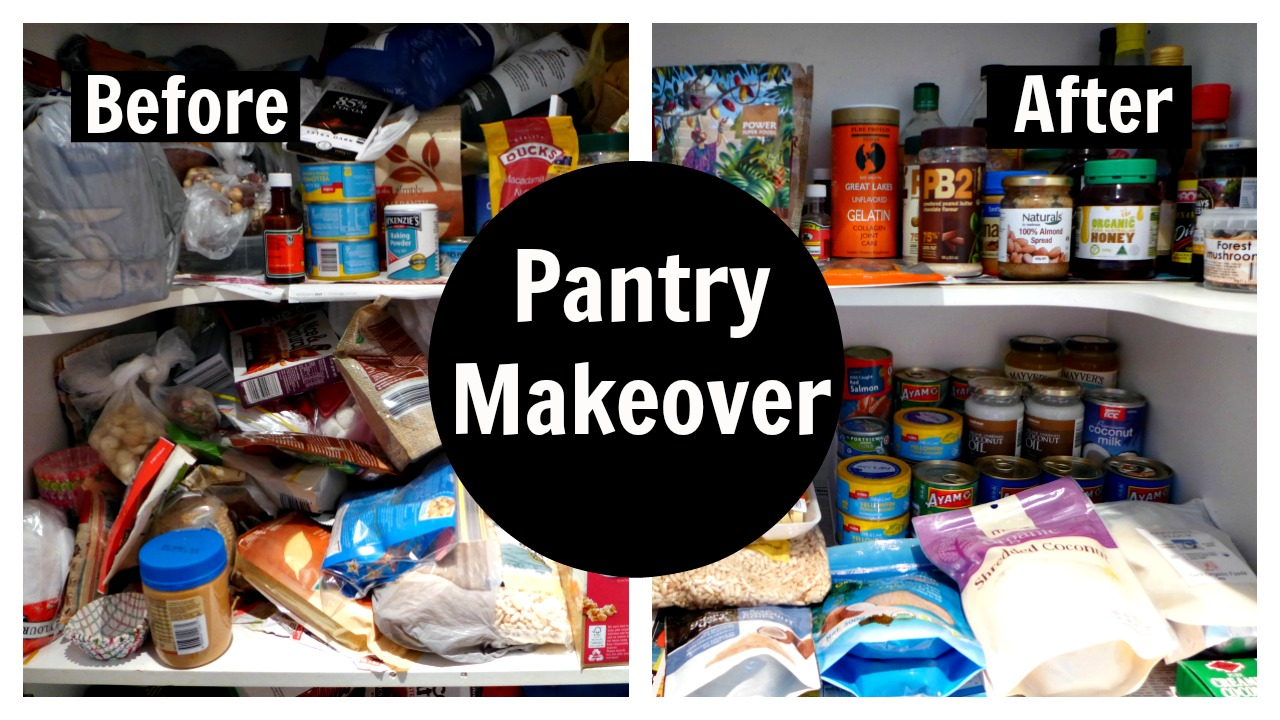 Pantry Makeover Organization Tips Ideas