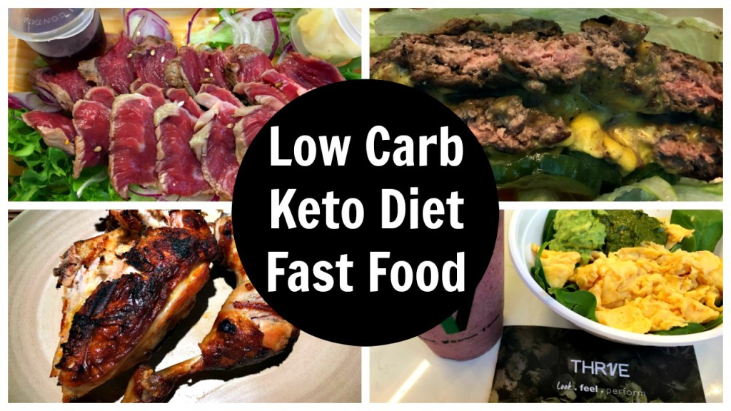 Fast Food Low Carb Burgers