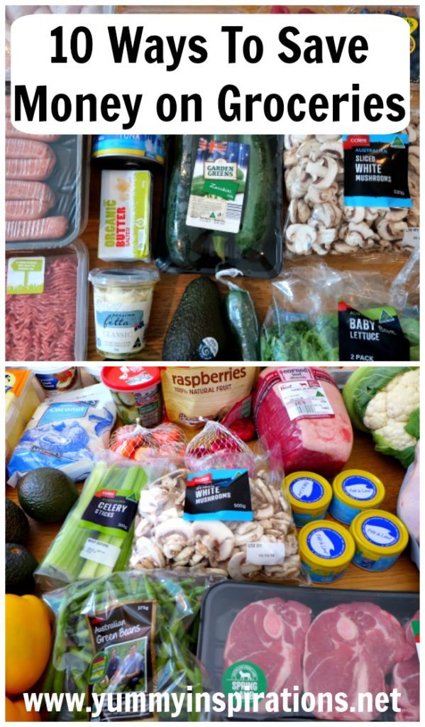 10 Ways To Save Money On Food & Groceries Shopping