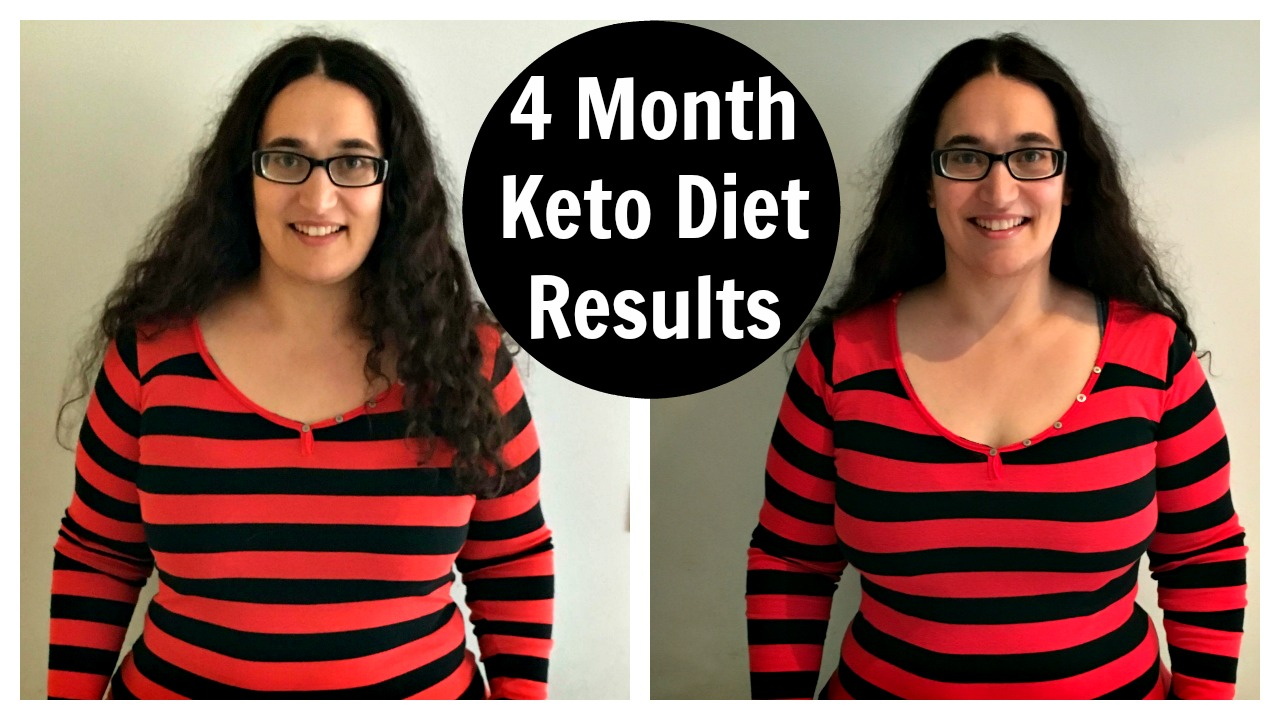 4 Month Keto Diet Results - Before and After Pictures on Ketogenic Diet