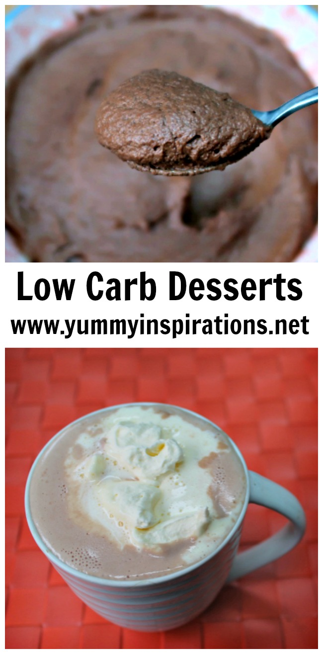 Low Carb Desserts - A Collection of easy low carb dessert recipes and video tutorials that are Keto/Ketogenic Diet friendly.