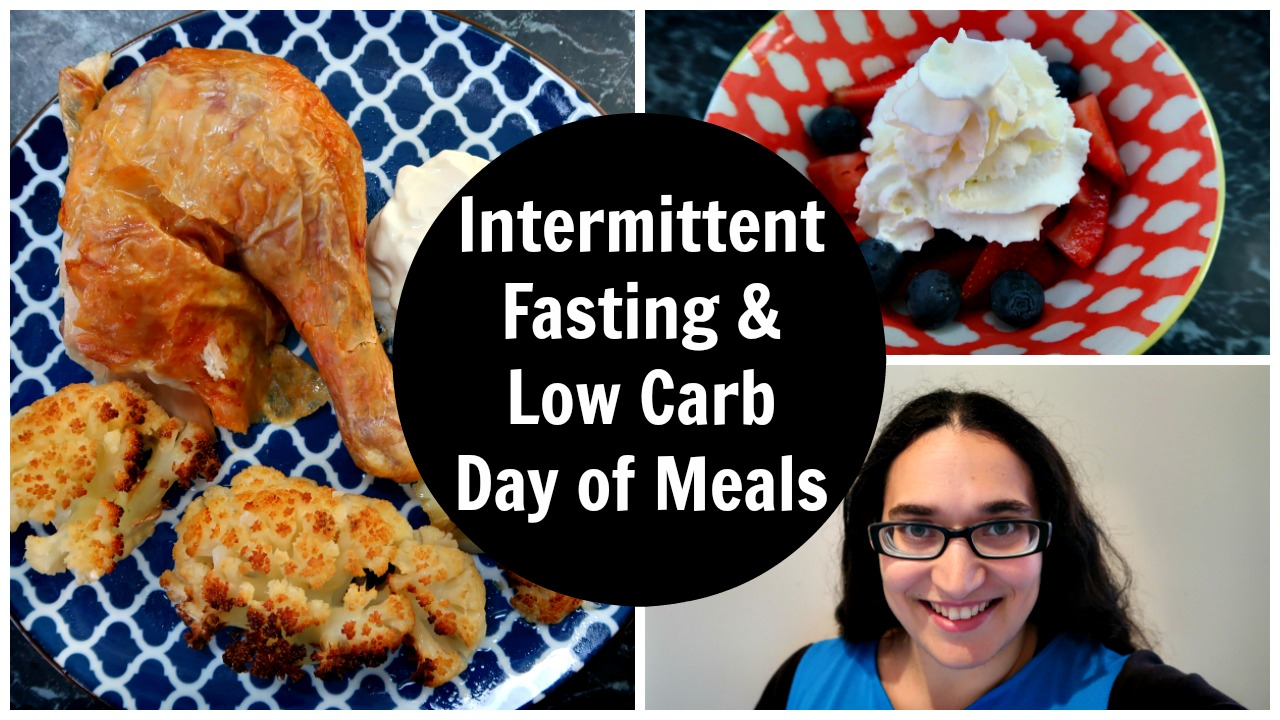 My Experience With Intermittent Fasting - Thoughts about experimenting with intermittent fasting, including my routine, what I eat & video.