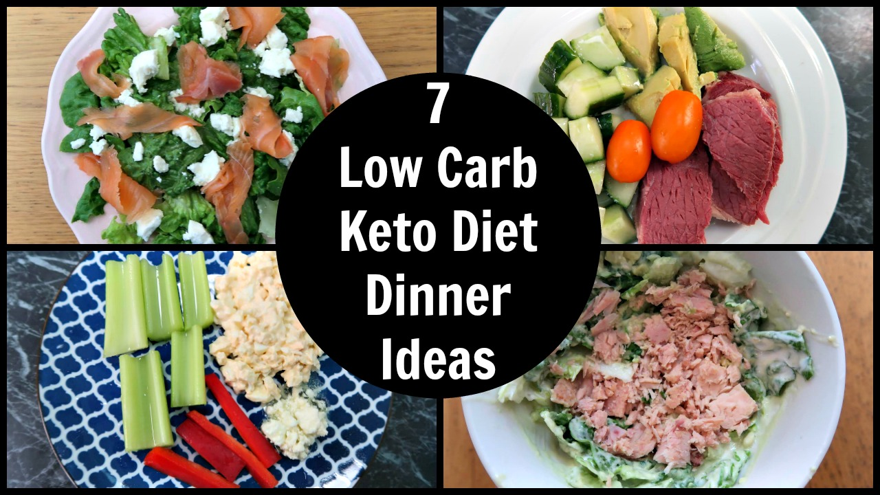 7 Keto Diet Low Carb Summer Dinner Recipes & Ideas - with video - ketogenic friendly recipes and inspiration for the whole year.