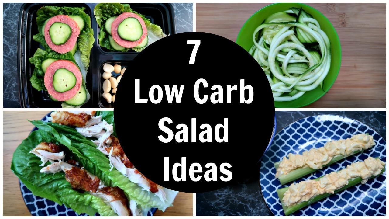 7 Low Carb Salad Ideas - A Week Of Keto Diet Salads Recipes