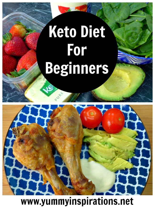 Keto Diet For Beginners - The Quick Start To Keto Guide - tips and hints to help you to you how to start the Ketogenic Diet.