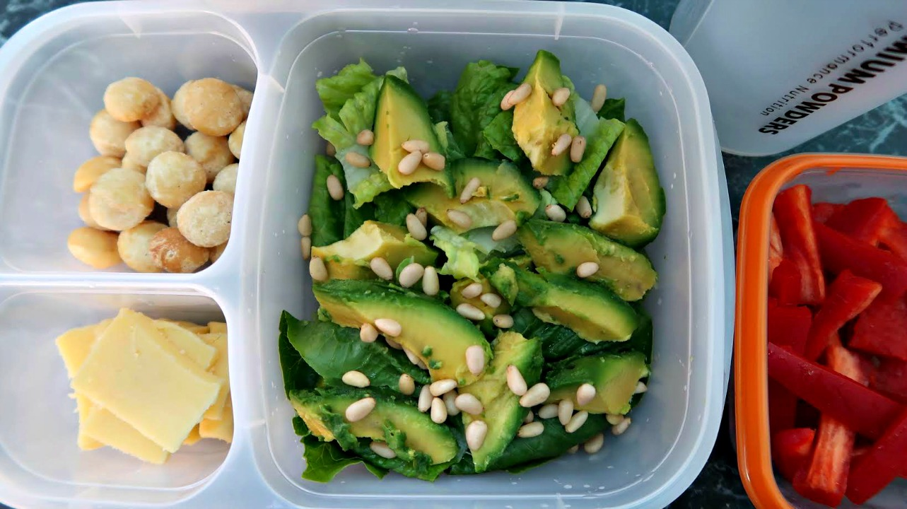 Keto Packed Lunch Ideas - low carb, ketogenic diet friendly ideas