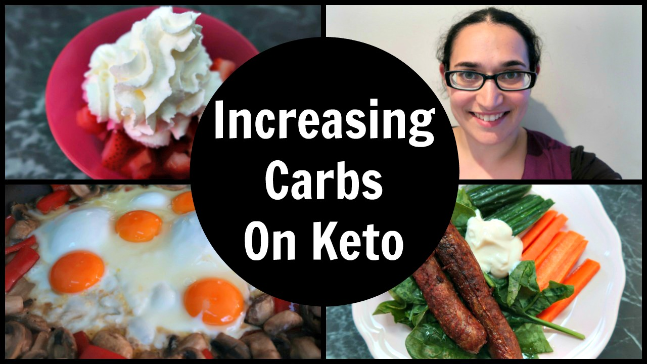 My Experience Of Losing Weight While INCREASING Carbs On Keto - my thoughts and video of a typical day of eating more carbs.