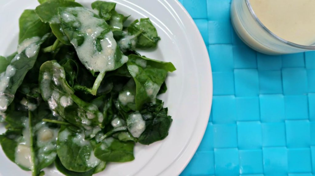 Lemon Garlic Low Carb Salad Dressing Recipe