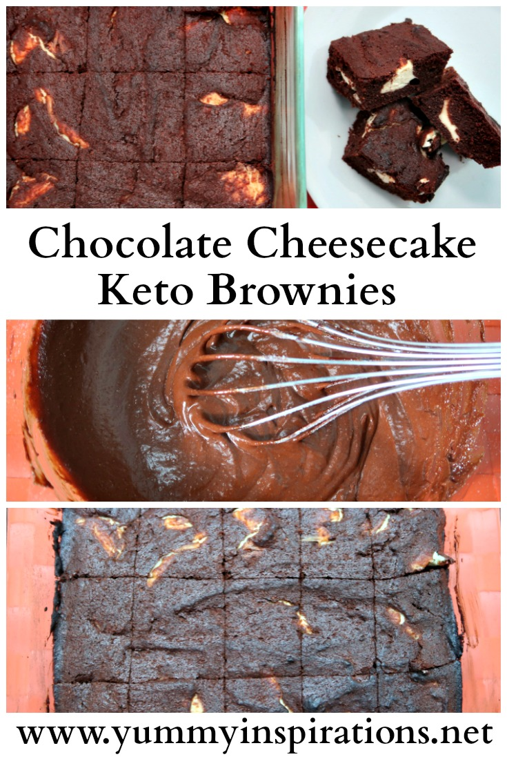 Chocolate Cheesecake Keto Brownies Easy Low Carb Recipe