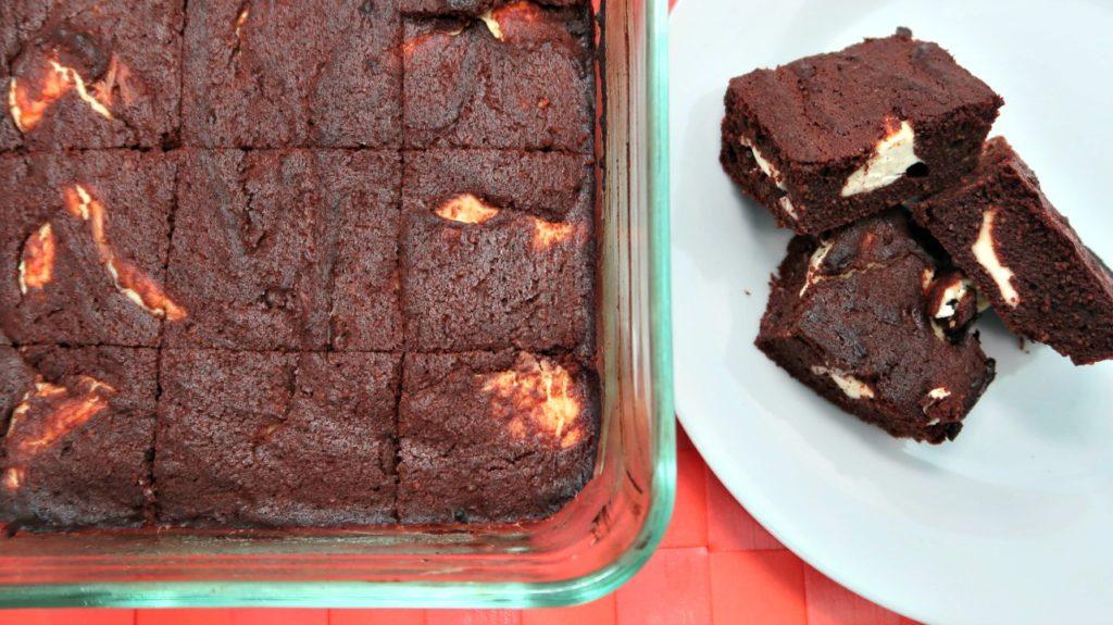 Chocolate Cheesecake Keto Brownies