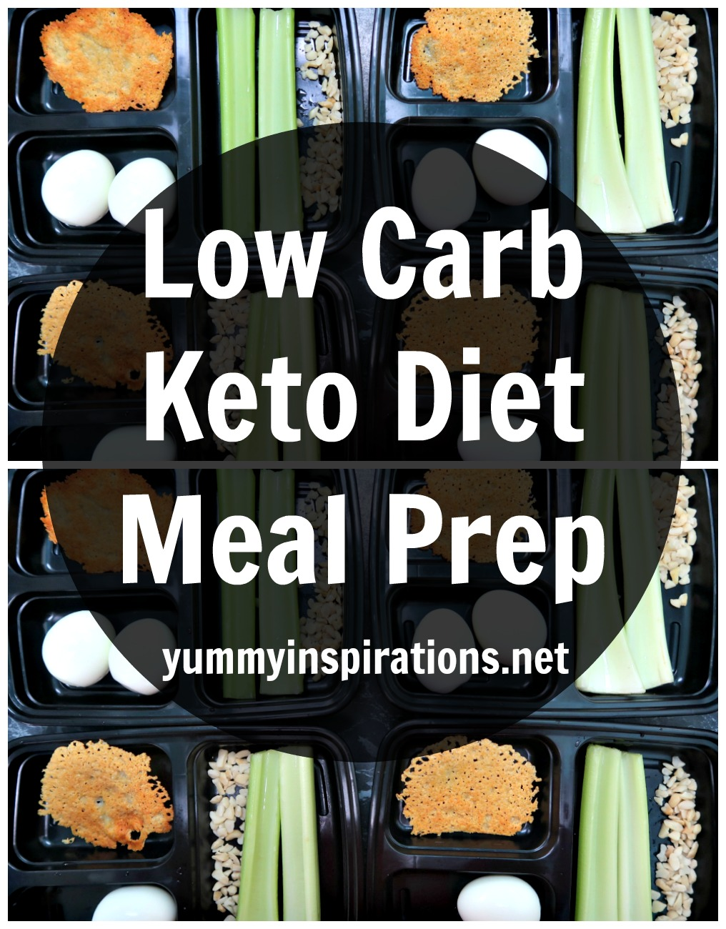 First Week Of Keto Meal Prep Sunday - Low Carb Ketogenic Diet